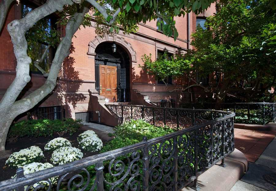 Offering nearly 13,400 square feet of living space, 211 Commonwealth Ave. is the largest townhouse currently available for sale in Boston.