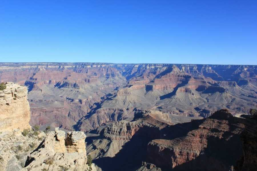 At Grand Canyon National Park, people will be turned back from entrance gates and overlooks will be cordoned off along a state road inside the park that will remain open.