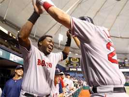 In 2013, Ortiz passed Harold Baines to become the all time leader for hits by a DH with 1,689. On Sept. 4, a double gave Ortiz his 2,000th career hit.