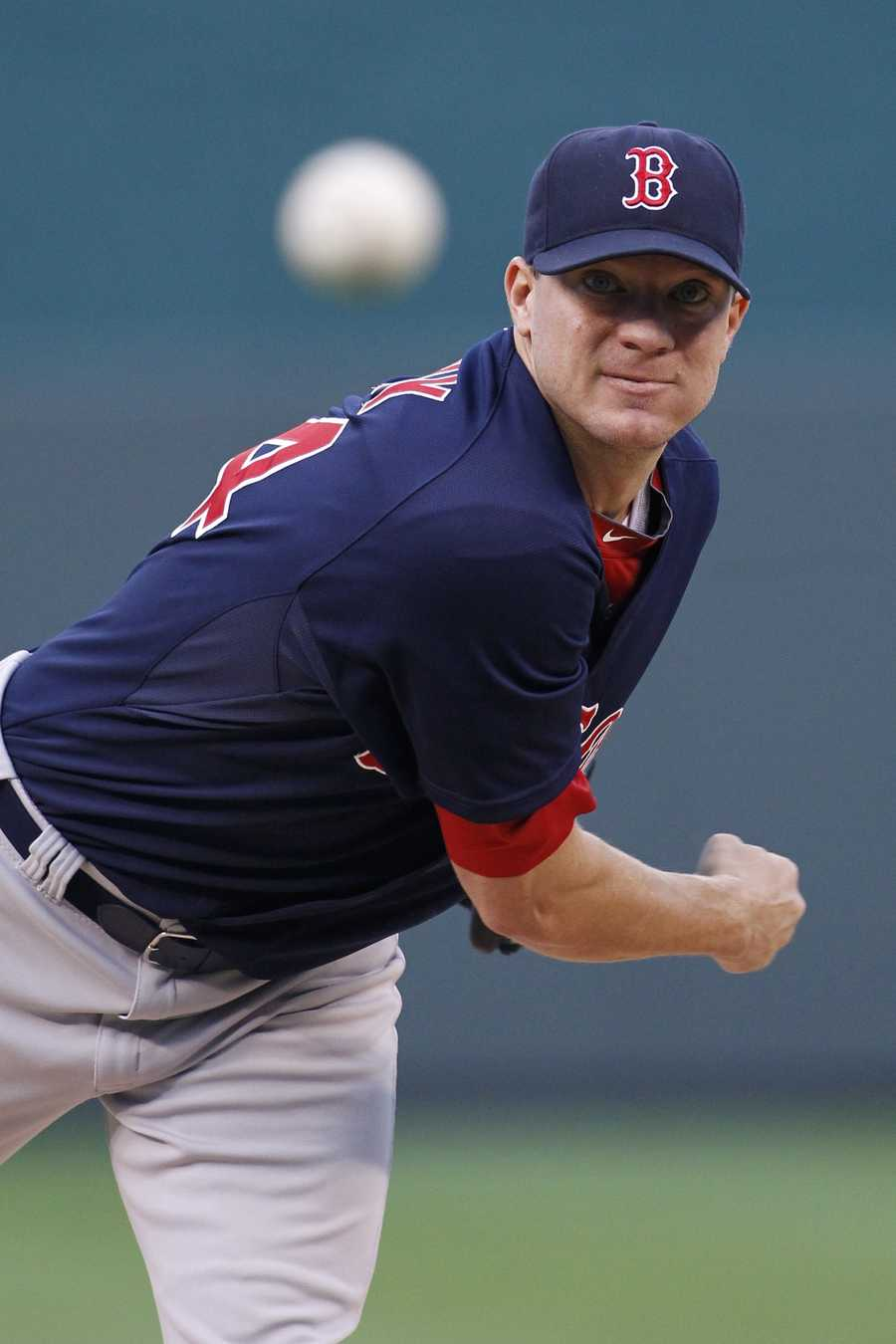 Before coming to Boston, Peavy pitched for the San Diego Padres and Chicago White Sox.