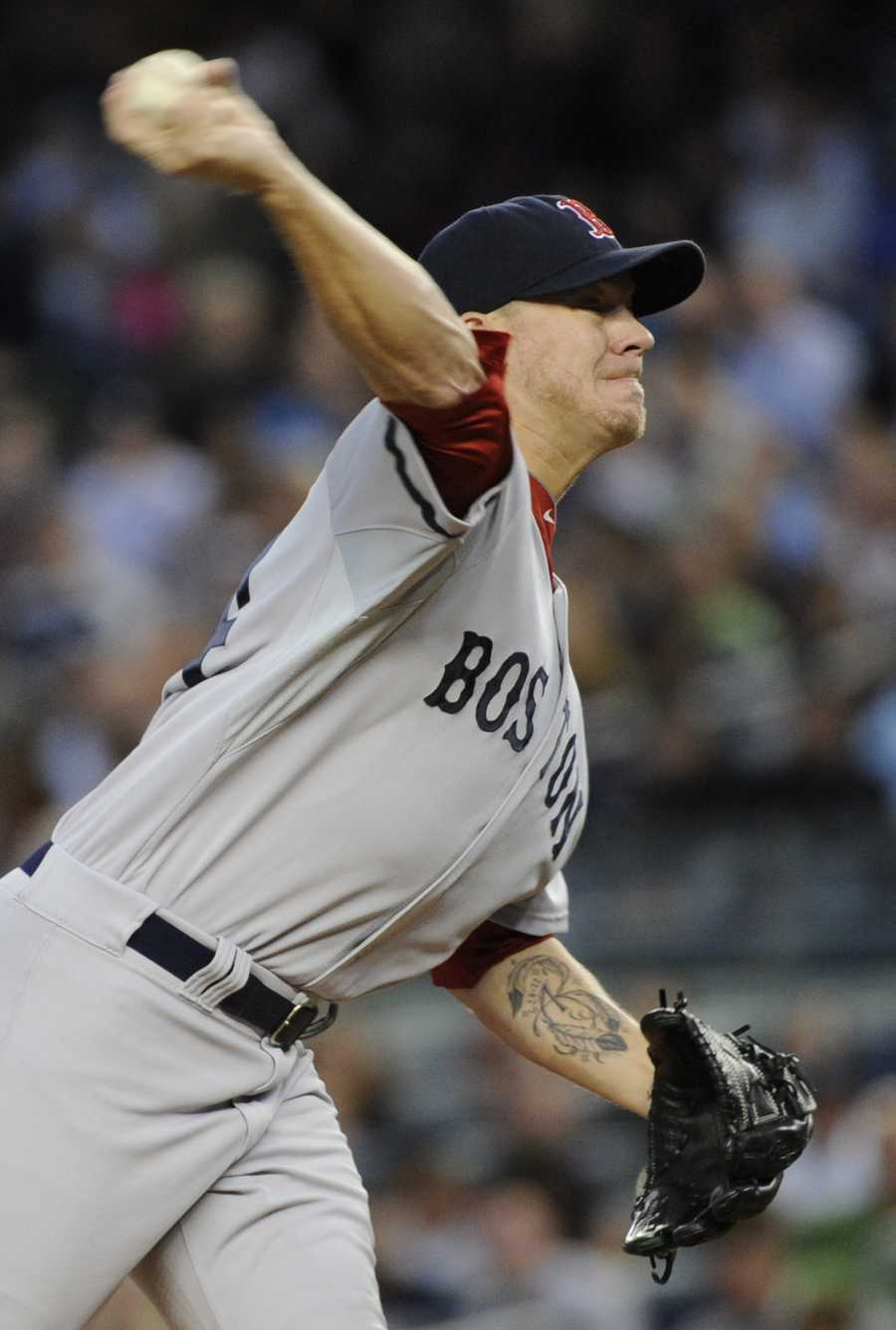 Peavy made his Major League Debut on June 22, 2002 against the New York Yankees.