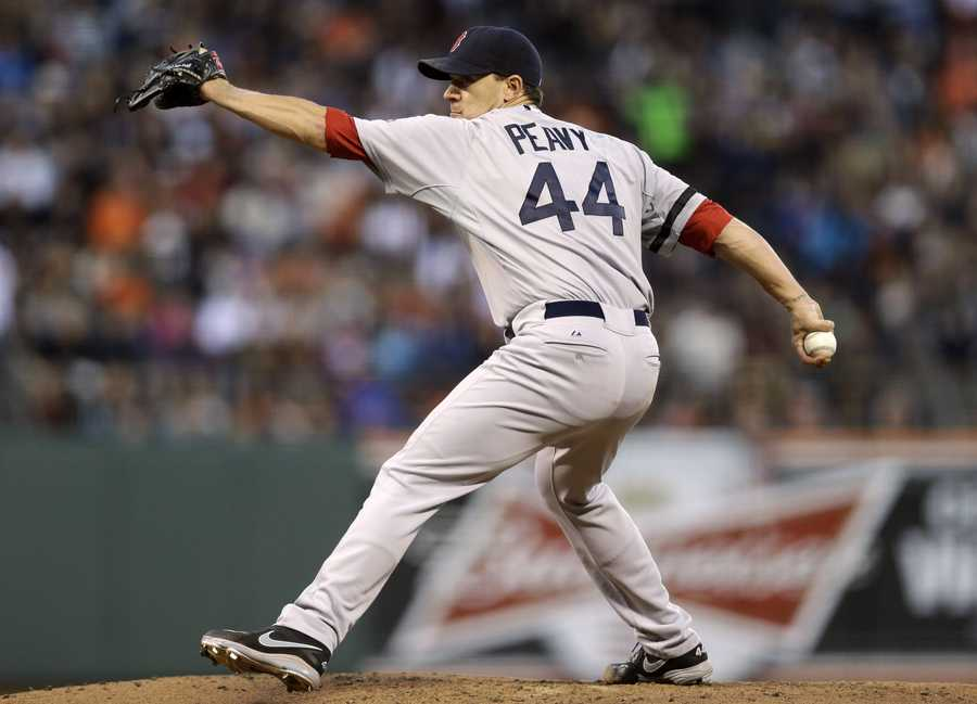 """""""Tonight is just 1 win, but it's 1 I'll never forget!! I Look forward to being a part of this great family going forward! Thank u to all!!!!"""" Peavy tweeted after his first Red Sox win."""