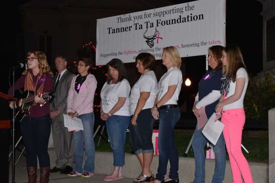 Since the foundation has raised more than $150,000. They have helped more than 100 women diagnosed with breast cancer.