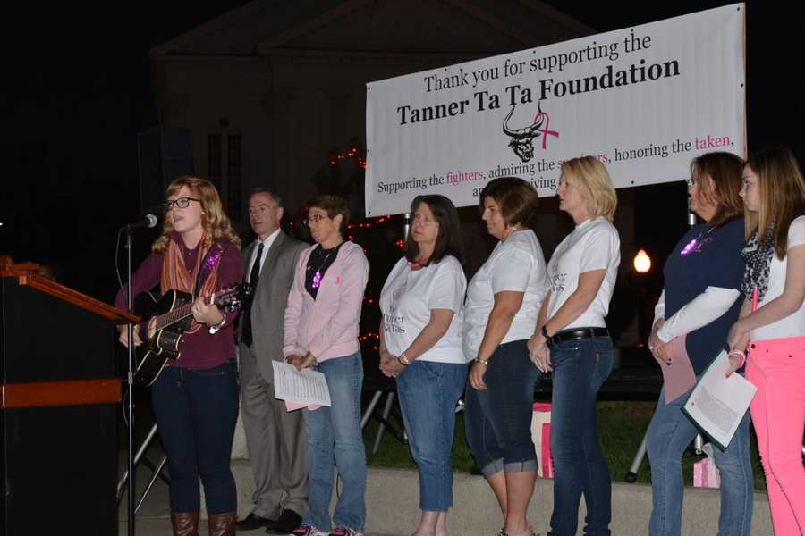The Tanner Ta Ta Foundation was founded by seven friends, all graduates of the Woburn High Class of '87. One by one, they were diagnosed with breast cancer. All were under the age of 40.