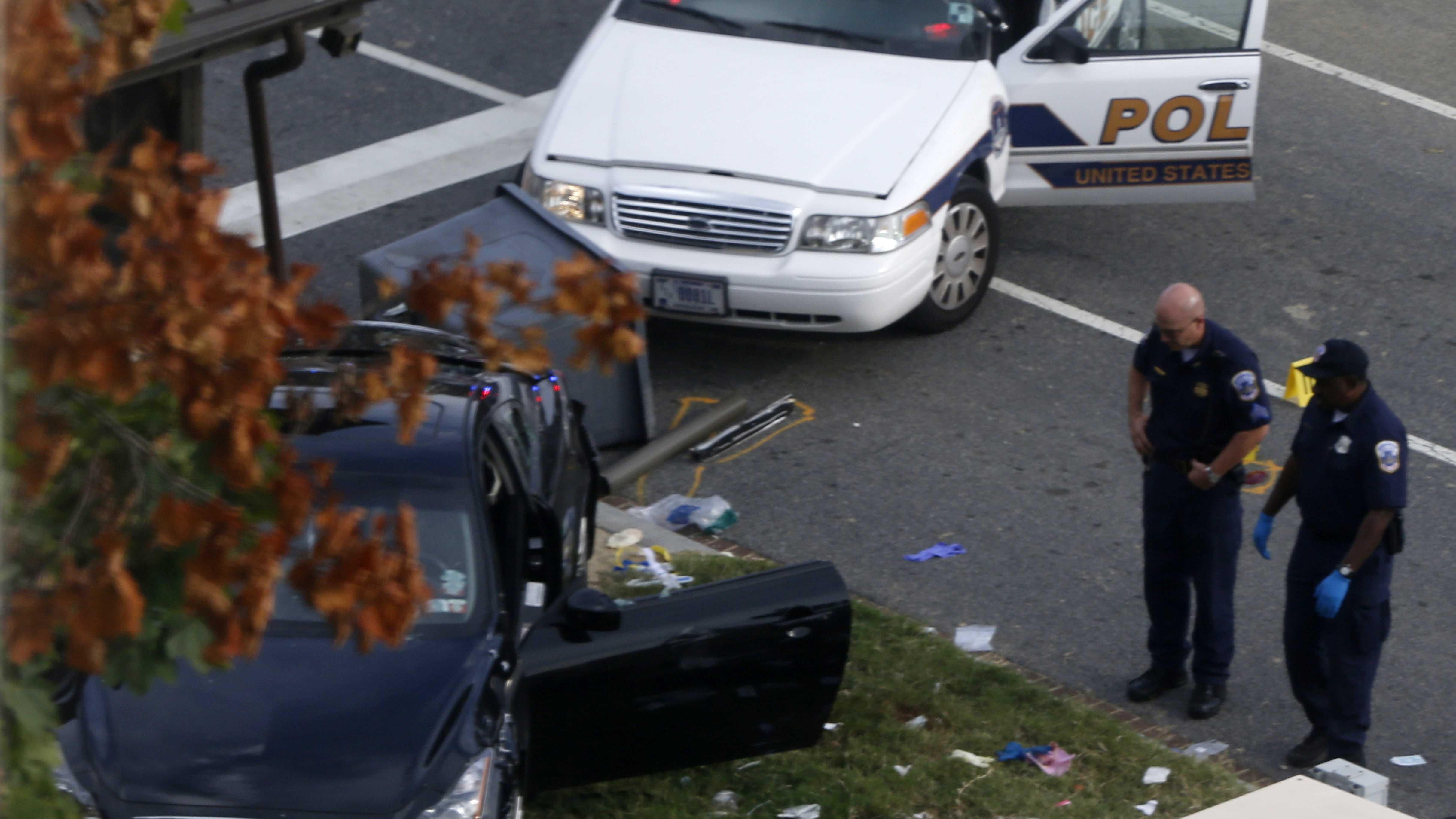 Capitol shooting Conn car