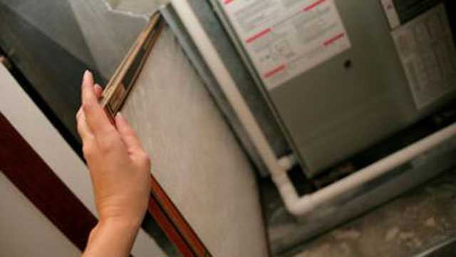 Service your furnace -- Schedule a professional furnace inspection and service appointment. This will include filter replacements, motor and fan cleaning and an inspection to check that the blower and gas piping are fully functioning.
