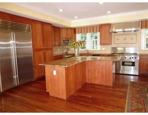 A state-of-the art kitchen.