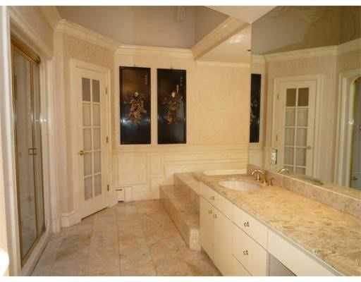 There are also 7 full bathrooms and one half bath.