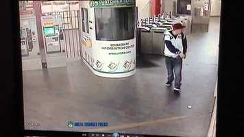 The photos were provided by MBTA Transit Police.