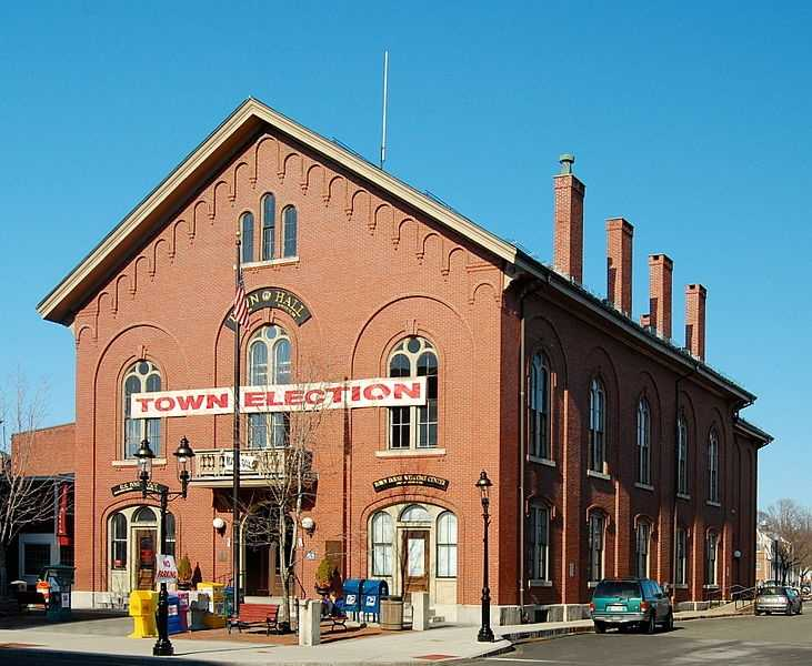 #18 (tie) The town of Andover was first settled in 1642, it was incorporated in 1646