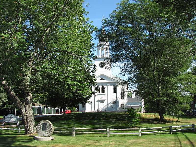 #14  (tie) The town of Wayland was first settled in 1638, it was incorporated in 1780