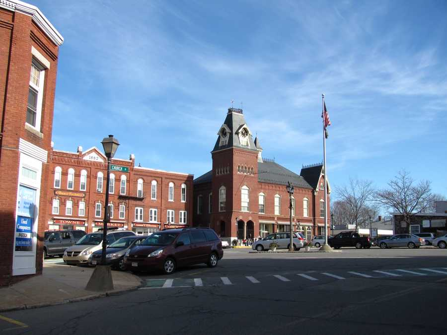 #14  (tie) The town of Merrimac was first settled in 1638, it was incorporated in 1876