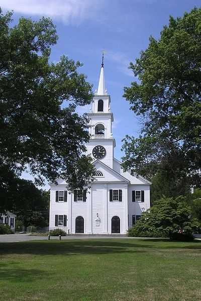 #11 (tie) The town of Dedham was first settled in 1635, it was incorporated in 1636