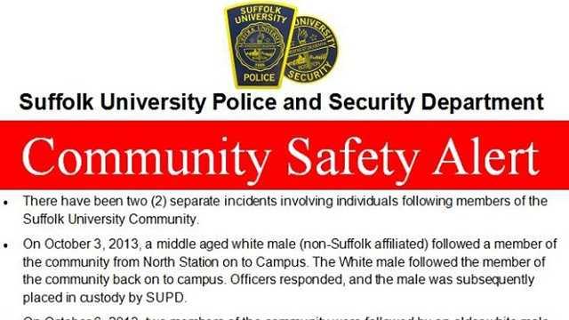 Suffolk Safety Alert