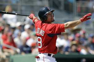 Two-time All Star player Victorino joined the Red Sox in 2013 and has a career batting average of .277, 105 home runs, 470 runs batted in and 222 stolen bases.