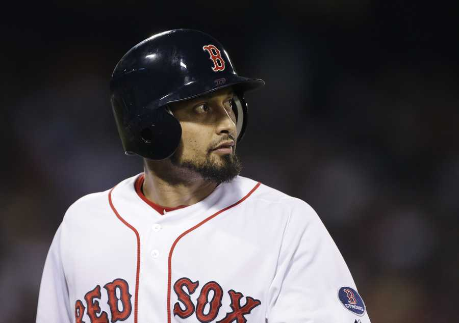 Victorino also won the Lou Gehrig Memorial Award in 2008 and the Branch Rickey Award in 2011.