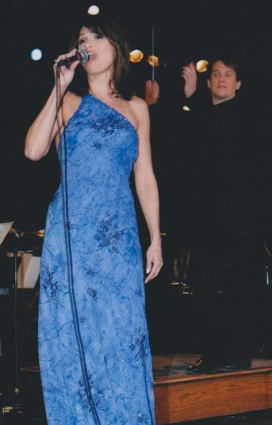 Liz sings with the Boston Pops conducted by Keith Lockhart