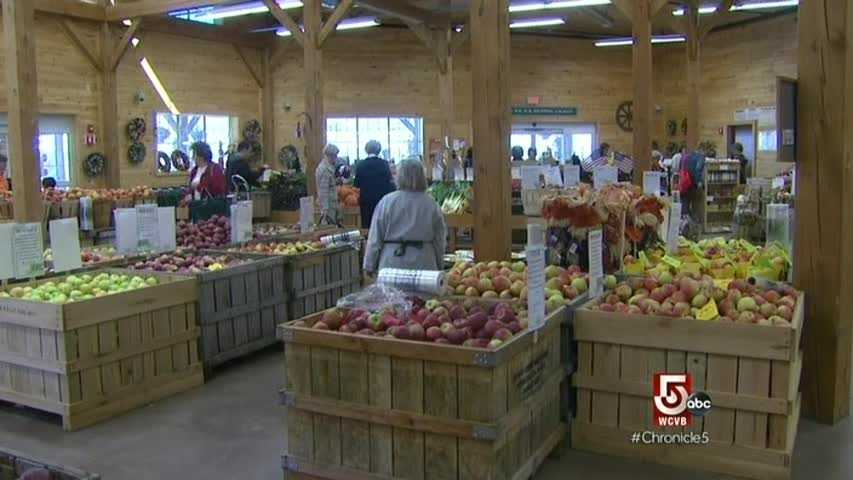 A recent update turned the once rustic farm stand into a modern farm market.