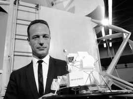 """Scott Carpenter, the second American to orbit the Earth, was guided by two instincts: overcoming fear and quenching his insatiable curiosity. Carpenter followed John Glenn into orbit, and it was Carpenter who gave him the historic send-off: """"Godspeed John Glenn.""""(May 1, 1925 – October 10, 2013)"""