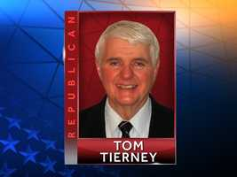 Republican Tom Tierney, of Framingham,has worked for the past 32-plus years as a self-employed independent consulting actuary. Website:http://www.tomtierney.org/