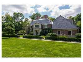 The home sits one mile from Weston Center.
