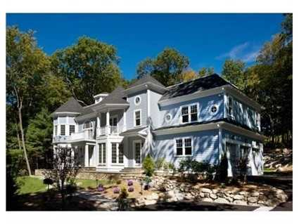 Fabulous new construction set on 1.28 acres and located on a cul-de-sac abutting conservation land!
