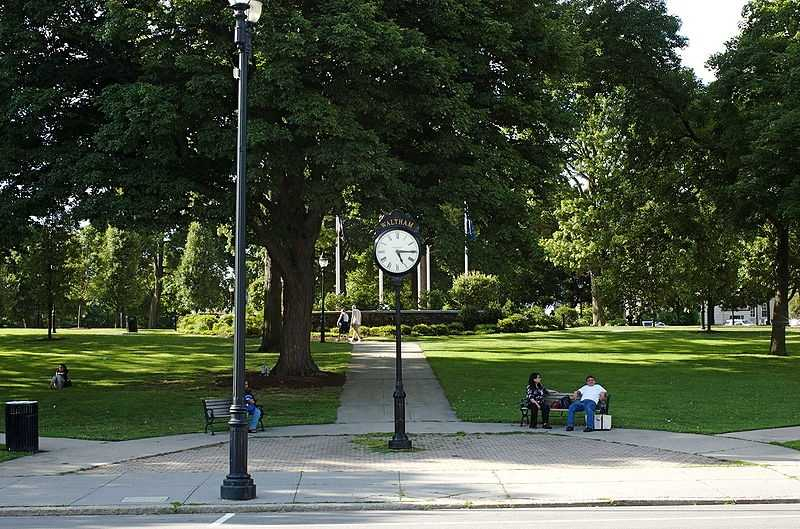 #10 (tie) The city of Waltham was first settled in 1634, it was incorporated in 1738 and again in 1884