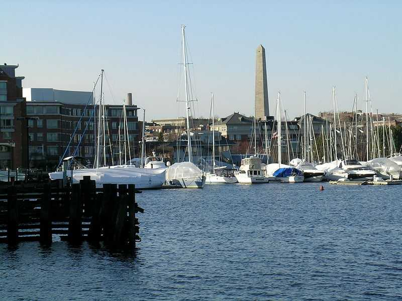 #7 (tie) Charlestown was first settled in 1630, it was incorporated in 1830 and 1847 and annexed to Boston in 1873.