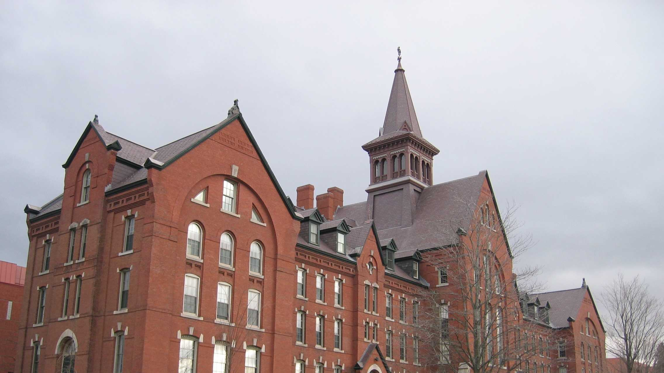 13. University of Vermont in Burlington, Vt. - 9.3% of scores sent to school.