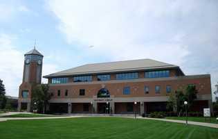 23. Roger Williams University in Bristol, R.I. -5.3% of scores sent to school.