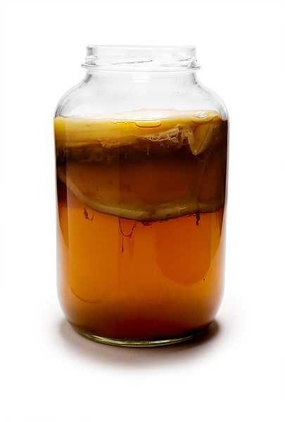 It's a fizzy fermented tea.