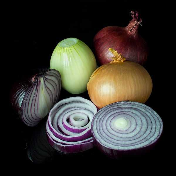 3.) Onions