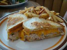 2.) Tuna Sandwiches