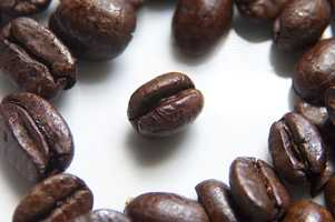 The enzymes in the coffee combine with your saliva.