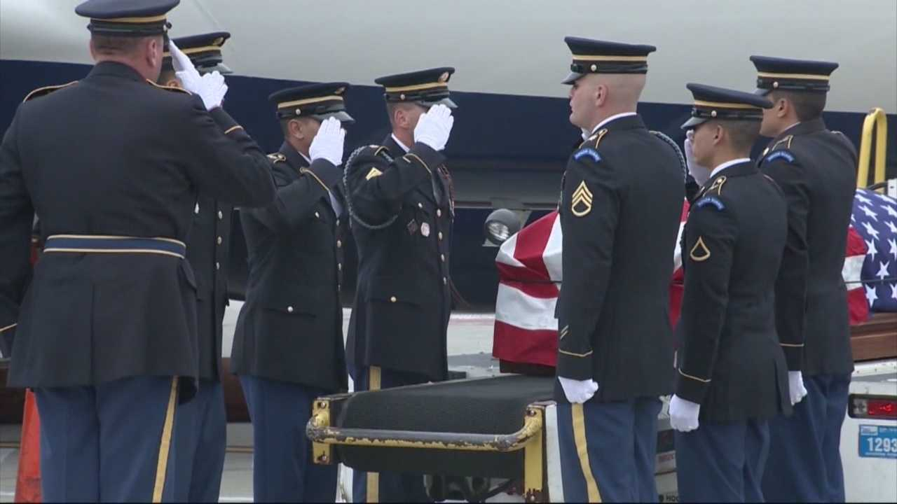 Man killed in Korean War returns home