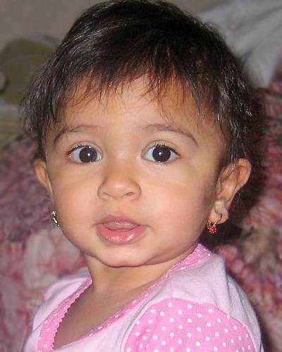 "Name: Kali AthukoralaCase type: Family AbductionDOB: Aug. 25, 2007Age Now: 6Missing Date: Apr. 13, 2009Missing From: Belchertown, MASex: FemaleRace: BiracialHair color: BlackEye color: BrownHeight: 1'6""Weight: 26 lbsThe child is believed to be in the company of her mother. They may have left the country and traveled to the Dominican Republic. The child is Biracial. She is White and Asian. She has scars on her legs"
