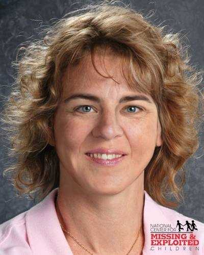 "Name: Catherine MalcolmsonCase type: Non Family AbductionDOB: Apr. 17, 1969Age Now: 44Missing Date: Aug. 13, 1985Missing From: Stow, MASex: FemaleRace: WhiteHair color: BrownEye color: BlueHeight: 5'5""Weight: 110 lbsCatherine's photo is shown age-progressed to 44 years. She was riding her bike to work and has not been seen since. Catherine's hair is naturally brown but it may be bleached blonde. She has a scar on her forehead, a dimple on her right cheek, and pierced ears. Catherine was wearing a silver ring and two bracelets when she was last seen. FOUL PLAY SUSPECTED."