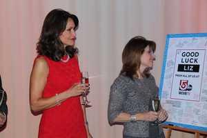 Liz looks on with NewCenter 5's Mary Saladna
