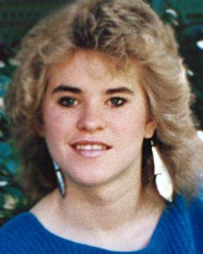 This is a photo of Catherine Malcolmson when she disappeared in 1985. On the next slide, you will see what she might look like now.
