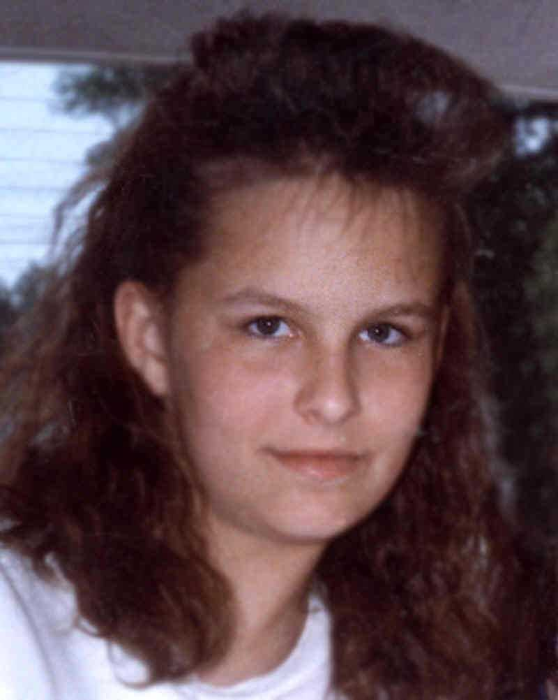 This is a photo of Melanie Melanson when she disappeared in 1989. On the next slide, you will see what she might look like now.