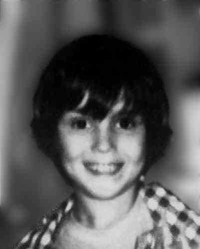 This is a photo of Andy Puglisi when he disappeared in 1976. On the next slide, you will see what he might look like now.