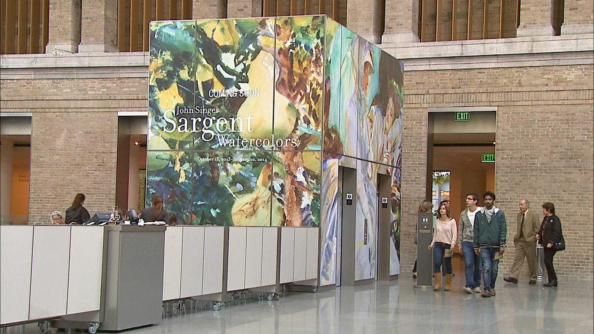 John Singer Sargent exhibit