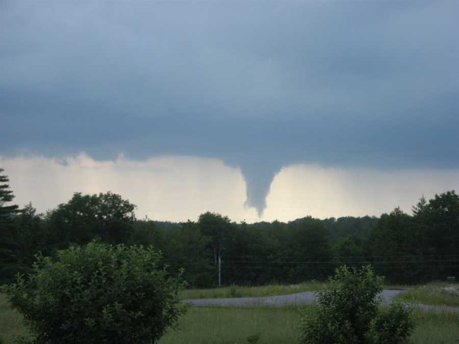 What's the likeliest month for a tornado?