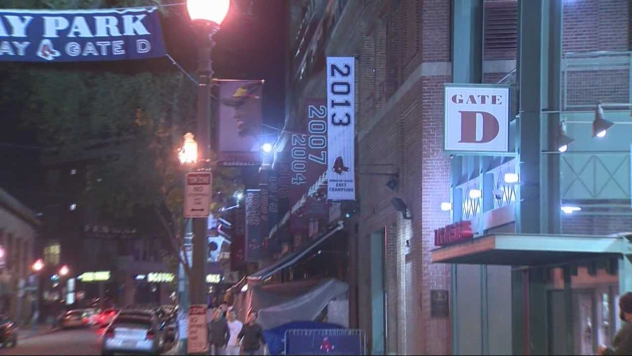Officials and Fenway area businesses are taking measures to keep the partying civil. The bar, like many others in the neighborhood, is bringing in a full staff and extra security.