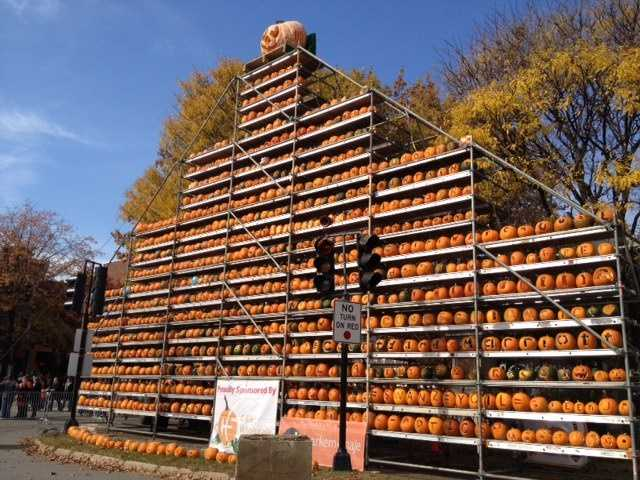 The Keene Pumpkin Festival was held Saturday.