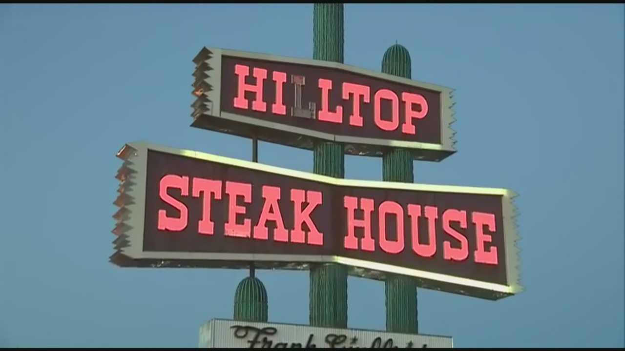 Hilltop sign