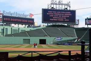 The seats at Fenway are made of oak.