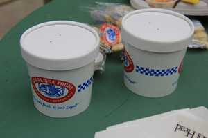 Clam Chowder will also be available across the ballpark. They expect to see 3,000 cups of clam chowder -- perhaps more thanks to the chilly weather.