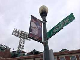 There's plenty of excitement for October baseball from Red Sox Nation -- and from the people at Fenway Park too.