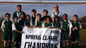 Chism on youth soccer team WL
